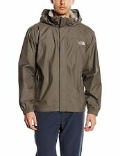 The North Face Mens Resolve Jacket Waterproof Coat in Brown / Beige, Size M or L
