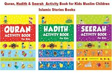 Quran, Hadith & Seerah  Activity Book for Kids Muslim Children Islamic Stories