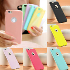Vari Colori Custodia Cover Bumper Silicone TPU Gel Case opaca per APPLE Iphone 7