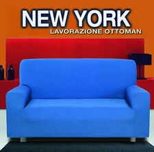 COPRIDIVANO 2 POSTI COSTINE NEW YORK ANTIPILLING MADE IN ITALY