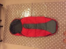 phil and teds footmuff (Red)