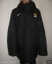 NIKE BLACK STORMFIT MANCHESTER PARKER  PADDED JACKET SIZE XXL NWT