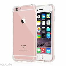 Shockproof Bumper Hybrid Back Cover Case for Apple iPhone 6S & 6 - 5S & SE