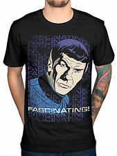 Official Star Trek Affascinante Capitano Kirk Poster T-Shirt Film Merchandise