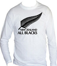 fm10 camiseta de manga larga unisex ALL BLACKS rugby Nueva Zelanda DEPORTE