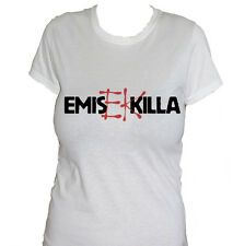 fm10 camiseta de mujer EMIS KILLA Hip Hop Rap italiano EK idea de regalo MÚSICA