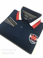 BLUE PREMIUM QUALITY Tommy Hilfiger Polo T-Shirt for Men - Export Surplus SALE