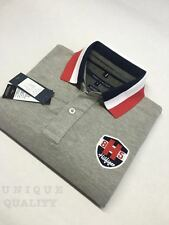 GRAY PREMIUM QUALITY Tommy Hilfiger Polo T-Shirt for Men - Export Surplus SALE