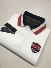 WHITE PREMIUM QUALITY Tommy Hilfiger Polo T-Shirt for Men - Export Surplus SALE