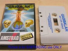 QABBALAH  for Amstrad CPC 464 / 664 / 6128