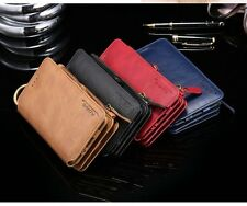 Luxury Floveme Flip Wallet Card Slots Leather Case For iPhone 5/6/7/8 Samsung