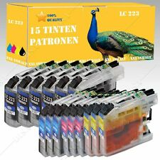 ab 1-20 Tinte kompatibel mit Brother mit Chip LC223 LC225 DCP-J 562 DW INK15
