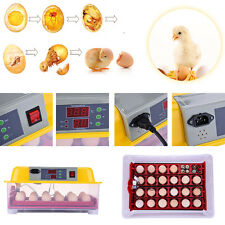 Automatic Turning 24 Eggs Digital incubator Household Poultry Waterfowl hatching