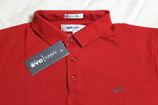 Gas Polo Tshirt (Color - Red, Size - XL)