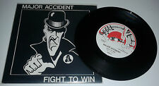 """MAJOR ACCIDENT """"Fight To Win"""" punk skinhead isd Oi! Red Alert/Last Resort/Nabat"""