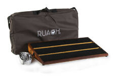 Ruach Carnaby St Handmade Hardwood Pedal Board for Guitar Effects