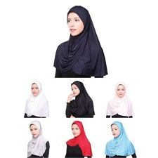 Muslim Scarf Inner Hijab Cap Islamic Cotton Full Cover Hat Islamic Head Wear