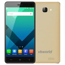 "VKworld T5 Gold 16GB 3G 5"" Android 5.1 MTK6580 Quad Core 1.3GHz RAM 2GB GPS 5MP"