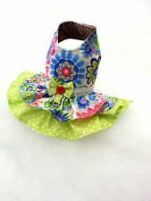 Small Chihuahua dress Dog clothing coat summer puppy Yorkie outfit  XXS