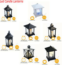 LED Candle Lantern Moroccan Colour Changing Flickering Flameless Battery Lantern