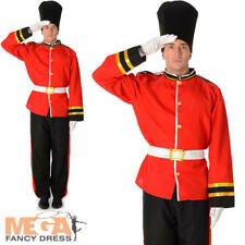 Royal Busby Guard Mens Fancy Dress British London Uniform Adults Costume Outfit