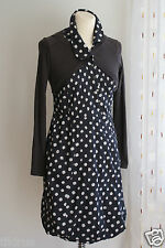 Robe ONE STEP pois 36 38 coton laine gris TTBE voir 7 photos