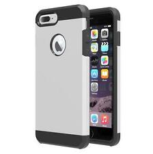 Luxury Tough Slim Armor Hybrid Dual Layer Shockproof Back Case for iPhone 7 Plus