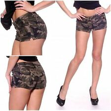 CAMOUFLAGE Stretch HOT PANTS / Shorts