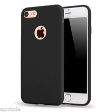 For Apple iPhone 7 & 7 Plus Soft Silicone TPU Simple Cover Case