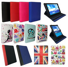 Universal Premium Wallet Case Cover for Wolder miTab One Tablet 7 Inch