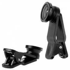 Totta Universal 3in1 Clip Fish Eye Lens Wide Angle Macro Mobile Phone Lens