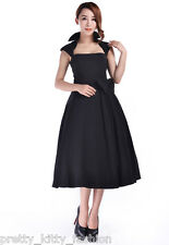 Vintage Negro 1950s 40s Años 50 Retro Pin-Up Rockabilly Swing