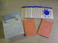 Vintage Linguaphone French Course (2 Booklets plus 16 45 rpm records with sleeve
