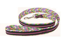 Air Mesh padded Reflective dog leash Mesh Fabric Dog Lead 4 Colors