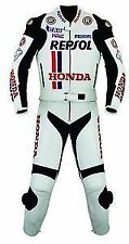 HONDA REPSOL MOTORBIKE LEATHER SUIT  BIKER LEATHER MOTORCYCLE JACKET TROUSER