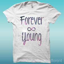 """CAMISETA HOMBRE """" FOREVER JOVEN """" IDEA ROAD SLAVE TO THE RHYTHM HAPPINESS"""