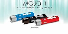 PORTRONICS MOJO -LED EMERGENCY TORCH(4 STAGES) +POWER BANK 2600MAH