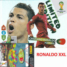 LIMITED EDITION XXL RONALDO Panini Adrenalyn XL FIFA World Cup Brazil 2014