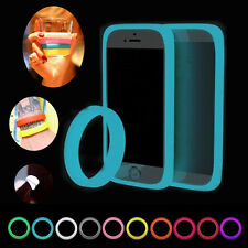 BUMPER CUSTODIA COVER CASE LUMINOSA FLUORESCENTE COLORATA IPHONE SAMSUNG SONY LG