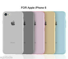 Transparent Color Ultra Thin Soft Silicone Cover Case for Apple iPhone 6S & 6