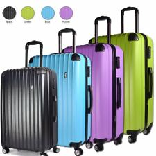 "Ryanair Easyjet 20"" Cabin Approved Flight Trolley Suitcase Luggage Case Bag"