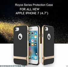 *ORIGINAL ROCK* Royce Series Double Layer Back Cover Case for Apple iPhone 7