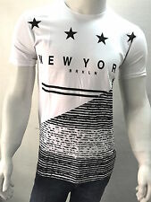 Network White T-shirt High Quality Premium Printed Round Neck T-Shirt