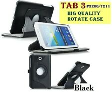"For Samsung Galaxy TAB 3 7""inch Flip Rotate Case Cover T211 Rotating Tab3 T210"