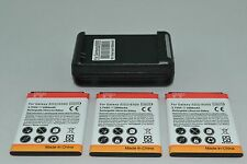 Samsung Galaxy S3 Batteries x 1 2 3 or Charger for i9300 L710 i747 EB-L1G6LL