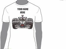 KOOLART FORMULA 1 KIMI RAIKKONEN  ANY NAME T-SHIRT GIFT PRESENT CAR MOTOR 1859