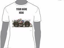 KOOLART FORMULA 1 KIMI RAIKKONEN  ANY NAME T-SHIRT GIFT PRESENT CAR MOTOR 1924