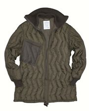 German Army Issue Surplus Quilted Cold Weather Jacket Liner GRADE 1