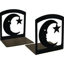 Village Wrought Iron BE-2 Moon and Star Book Ends NEW