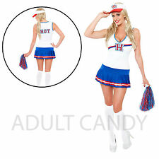 Ladies Women's Sexy Cheerleader Costume Role Play Outfit Adult  Fancy Dress S-XL